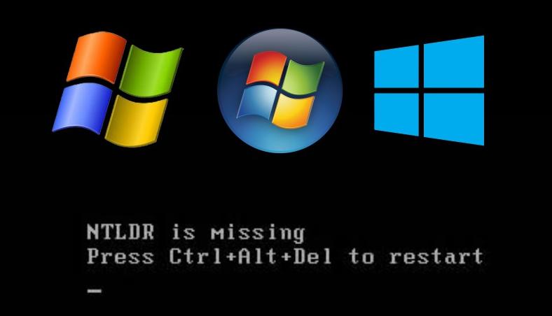 Ошибка NTLDR is missing - Press Ctrl+Alt+Del to restart