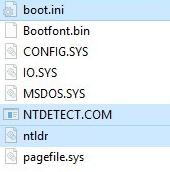 Доступ к ранее скрытым файлам
