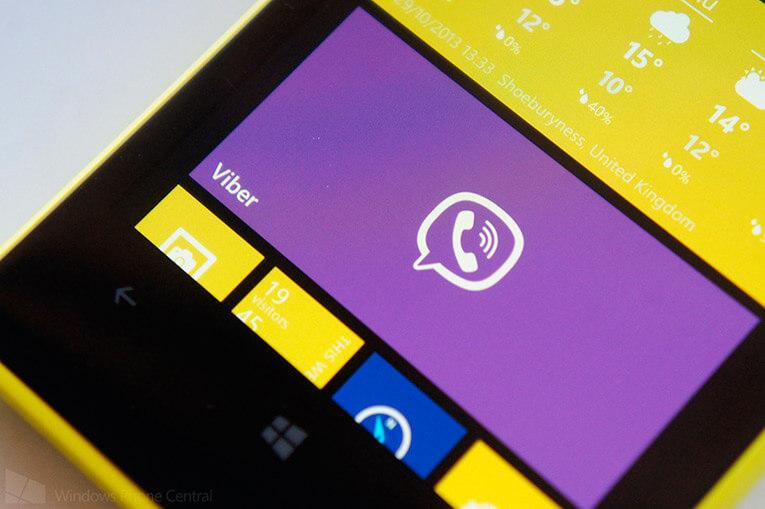 Установка viber на windows phone