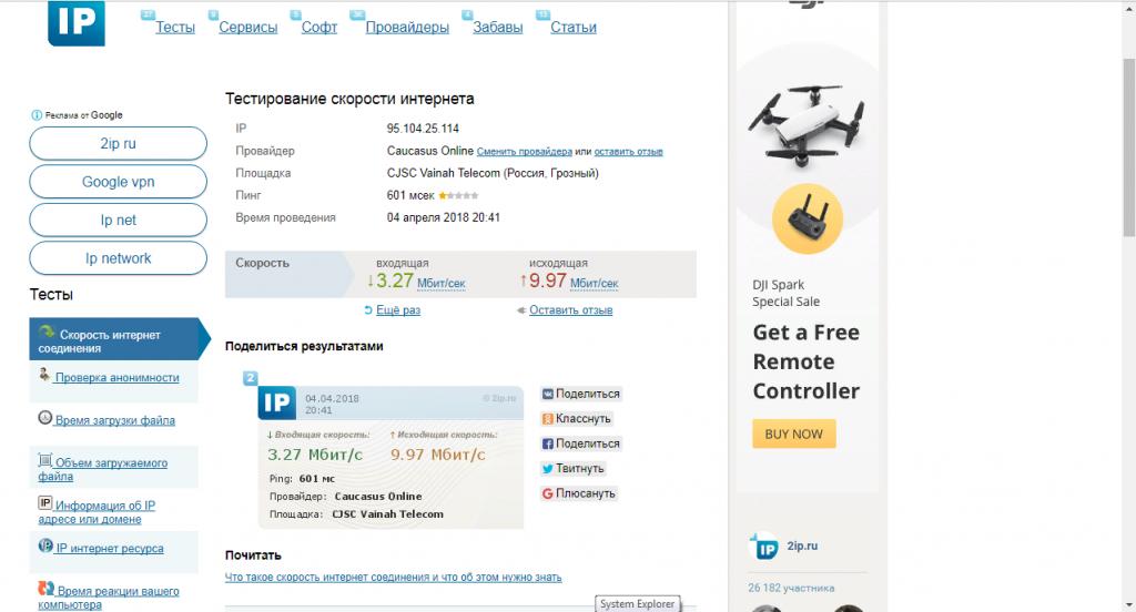 Сервис 2ip.ru